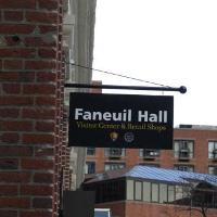 Faneuil Hall Entrance Sign