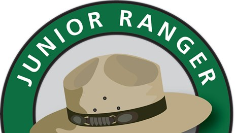 Image of the Junior Ranger logo with a ranger hat in the middle.
