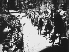 9th Cavalry in Yosemite