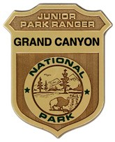 Grand Canyon Junior Ranger Badge