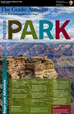 Front cover of Fall 2015 South Rim Guide Newspaper