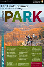 thumbnail of 2015 Summer South Rim Guide front cover