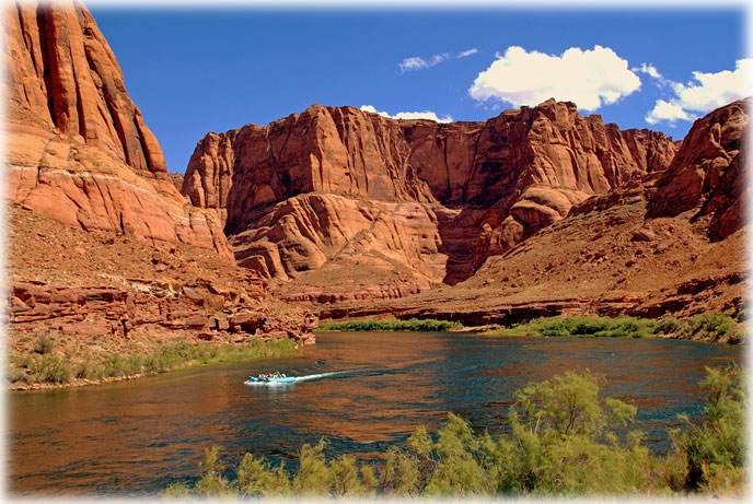 one day raft trip on the Colorado River
