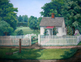 Hoover Birthplace by Diane Blair Kunzler
