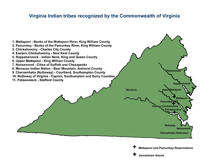 Meet The StateRecognized Virginia Indian Tribes