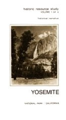 Cover of Historic Resource Study showing old photo of Yosemite Falls
