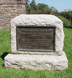 A Third Monument to the 1st New Jersey Brigade located at Crampton's Gap on South Mountain