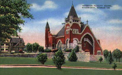Chapel at the Western Branch, Leavenworth, Kansas