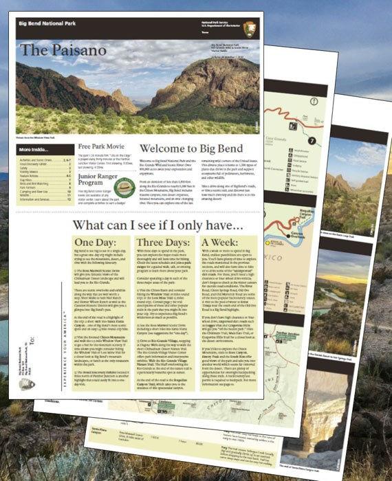 Big Bend Paisano Visitor Guide