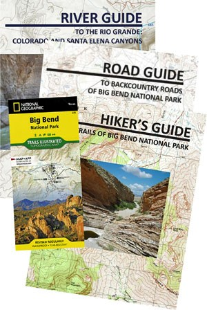 Big Bend maps and guides
