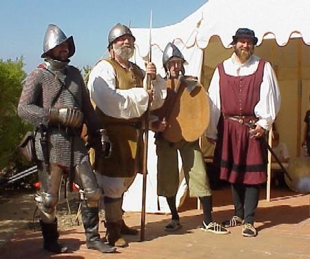 Armamento y equipo de los conquistadores españoles en el norte de América Noble_Warriors_All