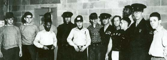Original 9 Jobcorps members in 1965.