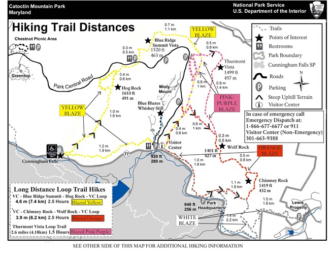 Image of East Side Trail Map