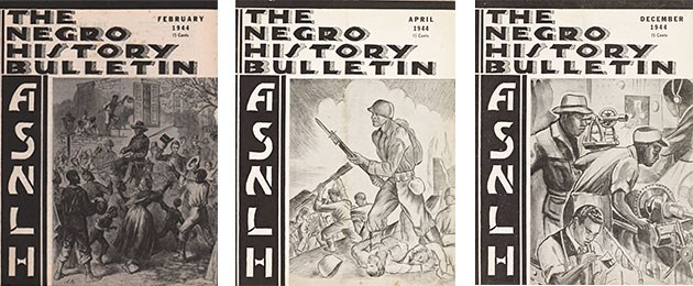 Copies of the Negro History Bulletin