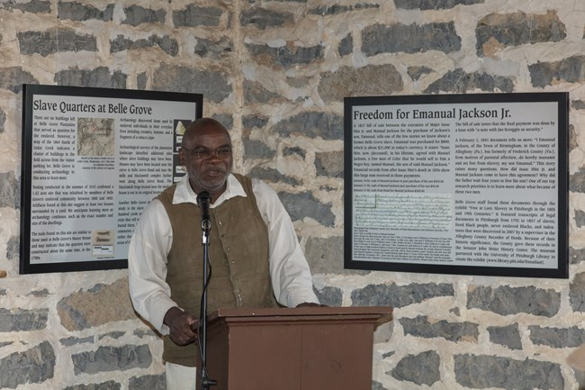Joseph McGill Slave Dwelling Project Presentation