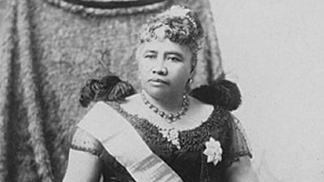 Queen Liliuokalani. Photographed around 1891 by James J. Williams (Source: Honolulu Star-bulletin.