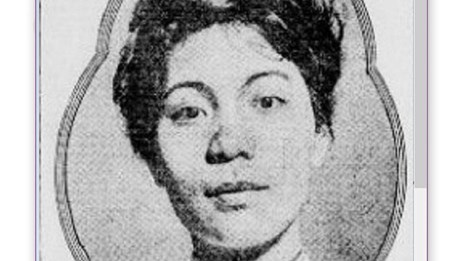 Head shot of Mabel Lee from New York Tribune