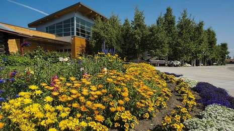 the alaska public lands information center building in Fairbanks