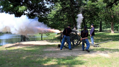 Historic Weapon Demonstration