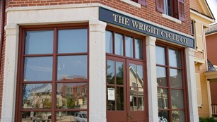 Wright brothers storefront