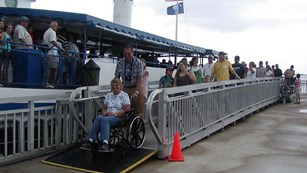 wheelchair access at fort sumter