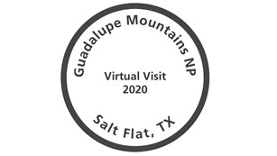 A cancellation stamp ffor a virtual tour during 2020.