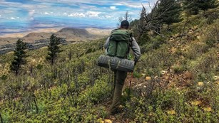 Plan your backpacking trip in the Guadalupe Mountains.