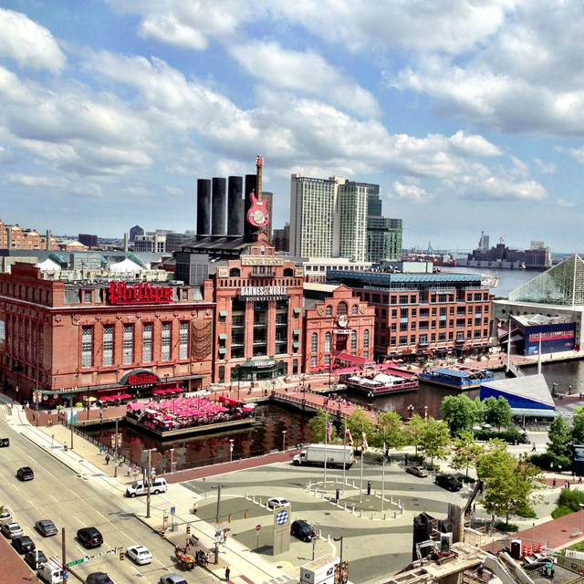 Image of Baltimore's Inner Harbor