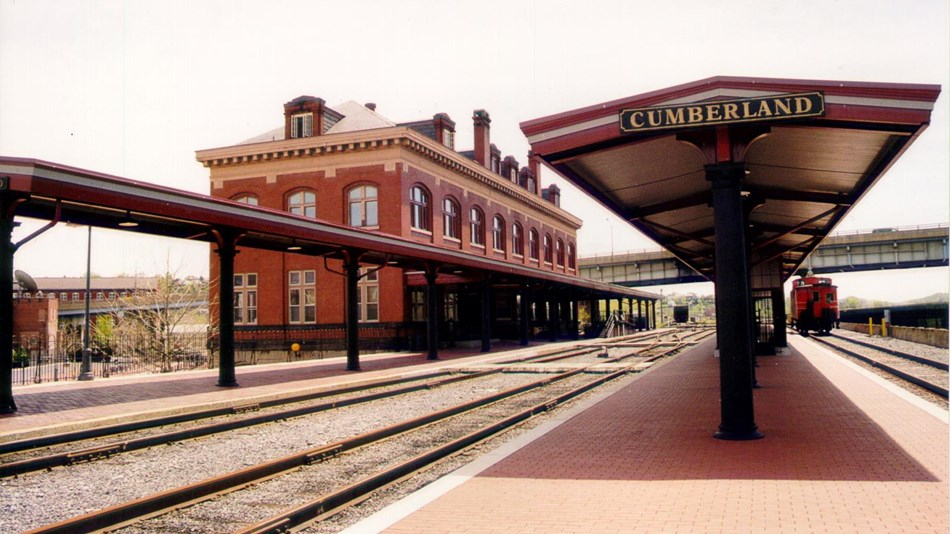 Cumberland Railroad Station. Photo Courtesy of Kathy McKenney, Department of Community Development