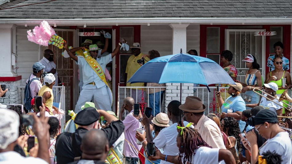 Uptown Swingers 2019 Second Line