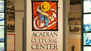 Entrance to Acadian Cultural Center museum