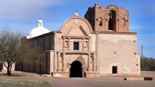 Link to historic sites in Arizona for the Juan bautista de Anza NHT