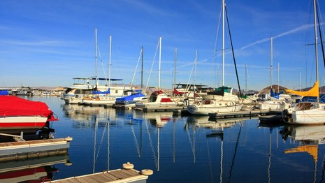 Marinas for boating and other water activity