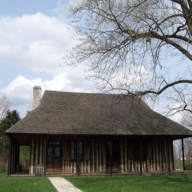 Courthouse building at Cahokia