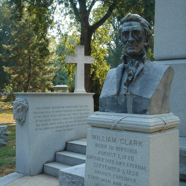 Statue of William Clark