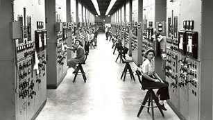 Calutron Girls at Oak Ridge Site