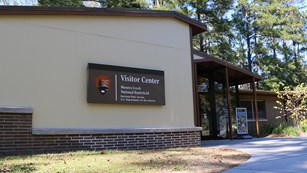 Visitor Center building