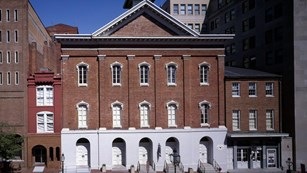 Exterior view of Ford's Theatre