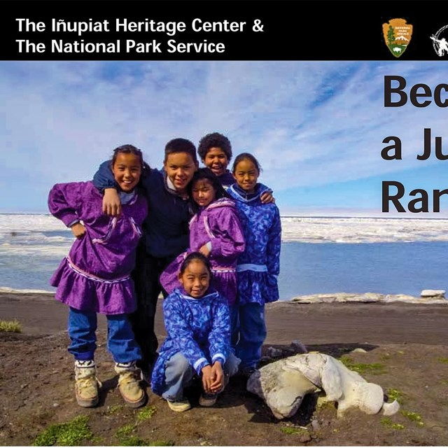Front cover of the Inupiat Heritage Center's Junior Ranger book