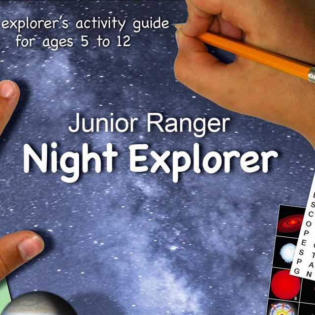 Cover of the Junior Ranger Night Explorer book