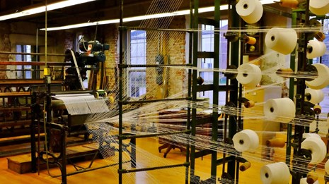 looms within the mill