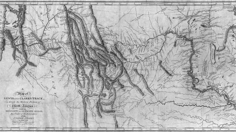 map produced by william clark