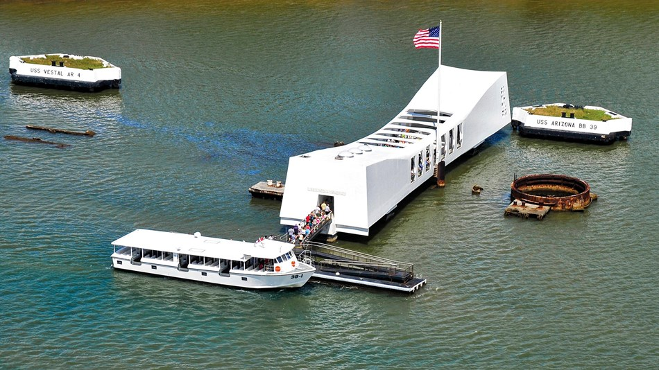 Visiting the USS Arizona Memorial