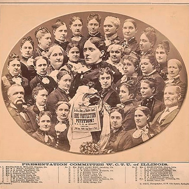 Womens Christian Temperance Union, Coll. Library of Congress