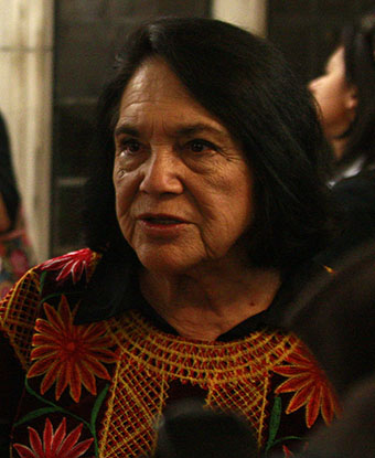 Portrait of Dolores Huerta by Eric Guo (cropped). CC-BY-2.0