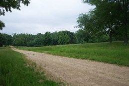 Green River Road on Cowpens National Battlefield