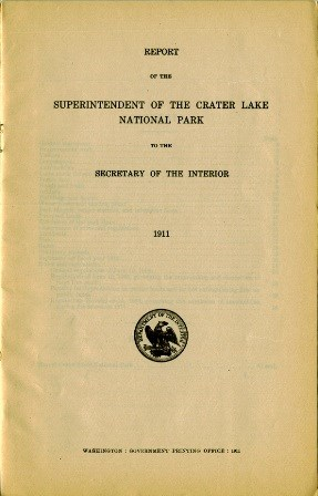 Park Superintendent's report for 1911