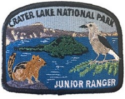 Crater Lake National Park's Junior Ranger Patch