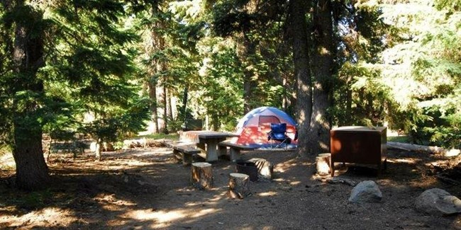 Mazama Campground Crater Lake National Park U S