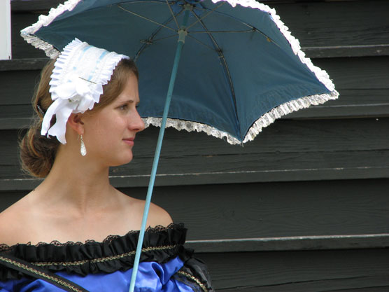 Officers Wife at Fort Scott
